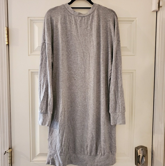 Forever 21 Dresses & Skirts - Grey sweater dress, Forever21